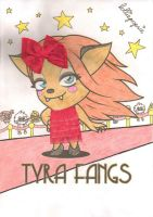 Tyra Fangs Makeover by lolliepopsie