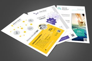 Multipurpose Corporate Flyers Bundle 3in1 vol. 3 by env1ro