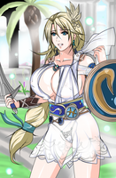 Sophitia Alexandria by Cellshadfan