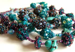 Vintage Beaded Beads by gbdreams