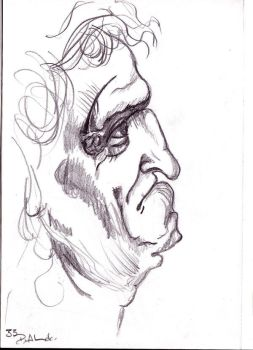 Old Man in Graphic Diary by SleepingInMind