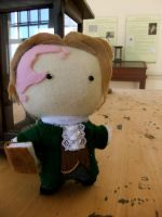 Nathan Hale plushie by Mrs-Lovetts-Meat-Pie