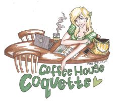 Coffee House Coquette by ThatArtKid