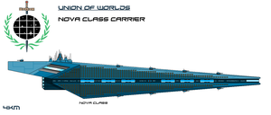 Union Nova Class Carrier by EmperorMyric