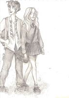 Teddy and Victoire by hatepotion