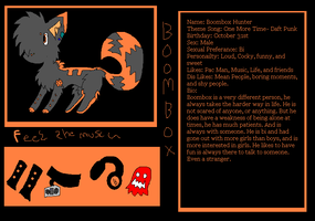 Re posttt Boombox Ref by TheCuriousFox