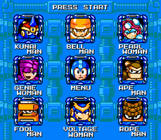 Megaman Maximum Stage Select 2 by hfbn2
