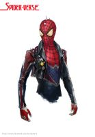 Spider-Punk by merkymerx