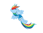 My very first vector - Rainbow Dash by Nyax