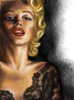 Marylin Monroe, a Tragic Beauty. by artissx