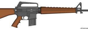 Fall out Service Rifle by Geke-sulen