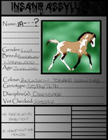 IA Foal Papers-Headfirst For Halos X Mischevious A by x-XInsomniaX-x