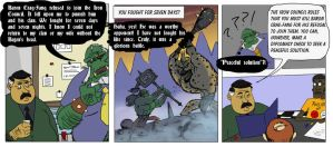 (COMIC) The Last Orc - - Peaceful Solutions by bmosley45