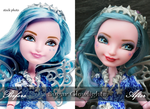 Before/After EAH Farrah repaint by sugar-glowlights