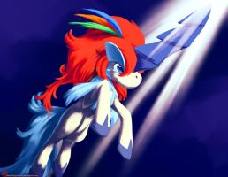 Keldeo's Tear of Courage by Ninja-Jamal