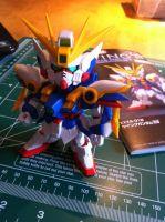 SD Wing Gundam WIP by katiewhy