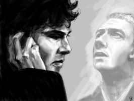 Sherlock and John - fall by Aquila--Audax