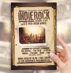 Indie Rock Flyer by sorengfx