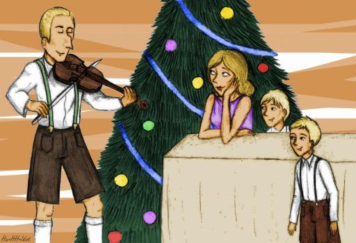 Nazi christmas 3: Heydrich by HerHH-Idiot