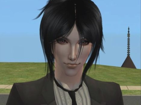 Sebastian Michaelis sims 2 by Calendaro