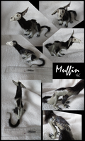 Muffin sculpture by Nuclear-Shadow