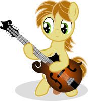 Music Lesson - Vector of MandoPony by Agamnentzar