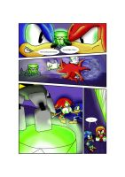 Sonic vs Knuckles by Beaven1302