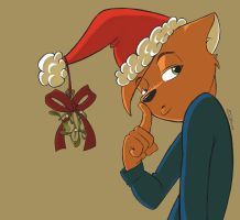 Christmas Hat by Sixcolors