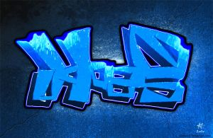 Ice graff by Skeware