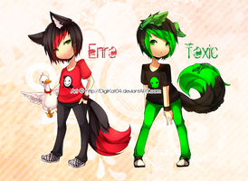 - O o Enro and Toxic alt. o O - by DigiKat04