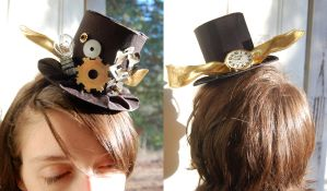Steampunk Tiny Top Hat by TinyTopHats