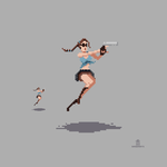 Lara Croft - Tomb Raider by ShroomArts