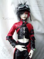 Cyber-goth Kotaro by Niki-UK