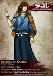 SDL: Ryousuke Kamon by BurningArtist