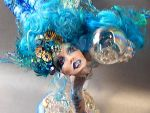 blue bubbles mermaid by rareamx