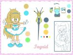 References - Ingrid The Hedgehog by InGriid-Chan