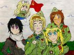 Hetalia: Soviet Girls by BravoKrofski