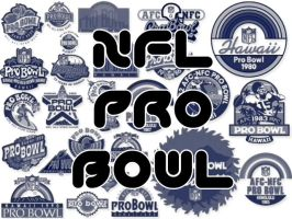NFL Pro Bowl Logos by UneekResources