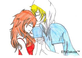 Finn And Flame Princess by MyNameIsEffyDakota