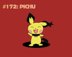 Day #7 - Pichu by TheSaure55