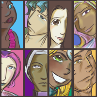 PTH Character Color Thumbnails by Caraphae
