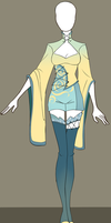 Adoptable outfit #6 - [Auction - CLOSED] by Eggperon