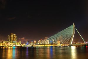 Erasmus Bridge by ArjenCalter