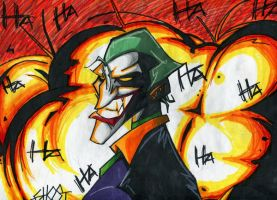 Joker Explosion by OrochiGhOsT