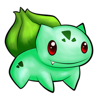 001 Bulbasaur by TheSplashingMAGIKARP