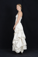 Wedding Dress Side Profile by Danika-Stock