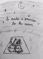 I made a promise to the moon by Ally-Kat312