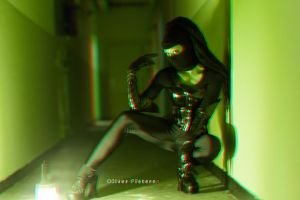 Dark Assassin Anaglyph by hoschie