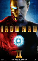Fanmade Iron Man 2 Poster by hobo95