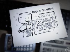 Dad and Grandpa :) by C0y0te7